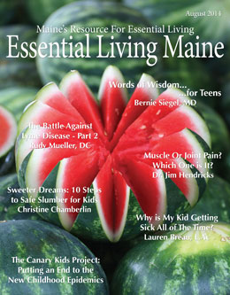 EssentialLivingMaine_August_Digital_2014_Cover_Yudu