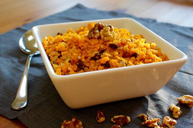 Butternut Rice Pilaf
