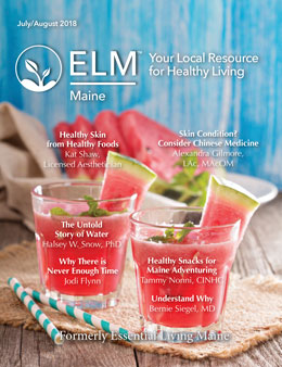 EssentialLivingMaine_July_2018_Cover_Yudu