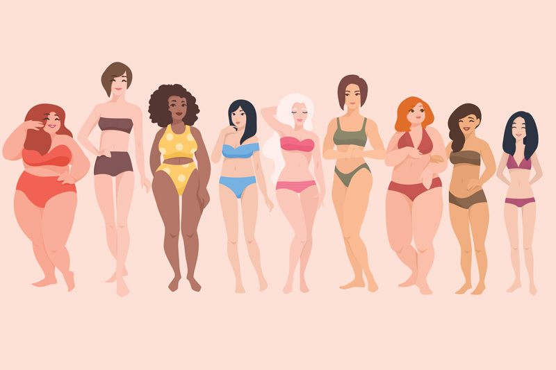 Developing a More Positive Body Image